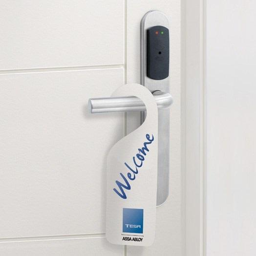 Zamek elektroniczny na kartę Tesa UPDATE ON CARD SYSTEM