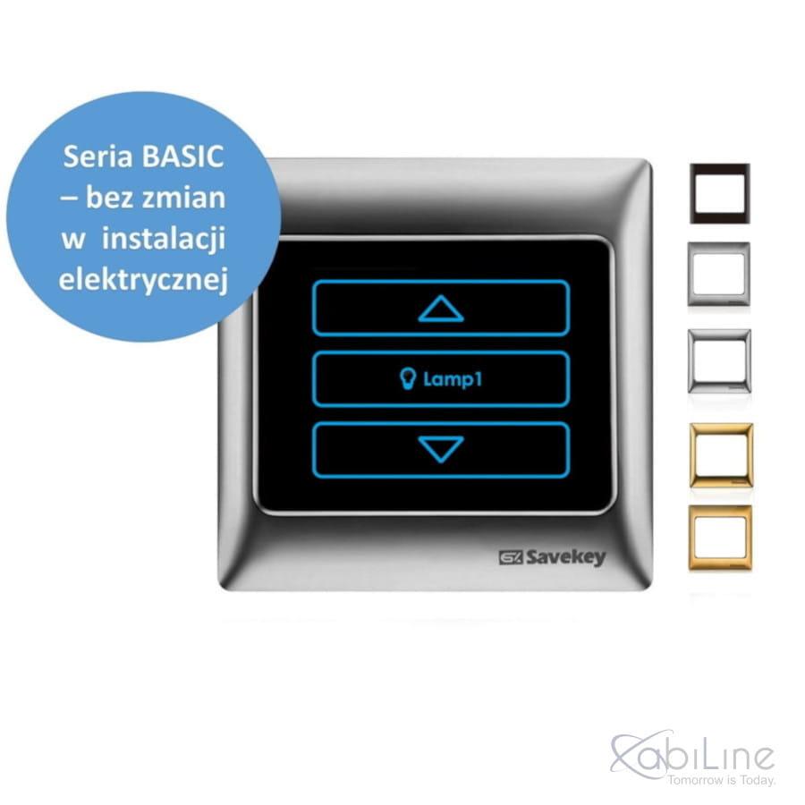 Ściemniacz dotykowy SaveKey BASIC High Power  TS-DH1