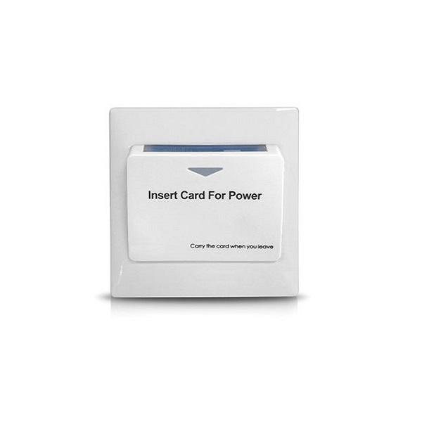 Włącznik światła na kartę Mifare ES-HF2001 - biały