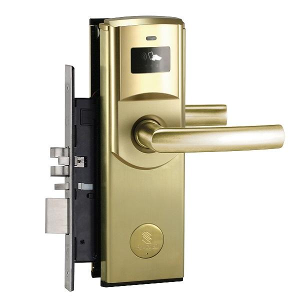 Zamek hotelowy na kartę Be-Tech Smart kolor złoty