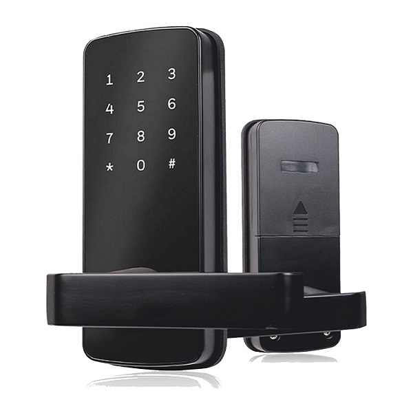 Zamek do apartamentów na kod, Bluetooth i kartę - smartlock by abiline_ model 401