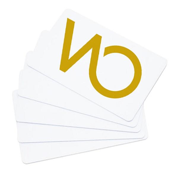 Karta Mifare 1k ISO kodowane Be-Tech/Hartman z nadrukiem